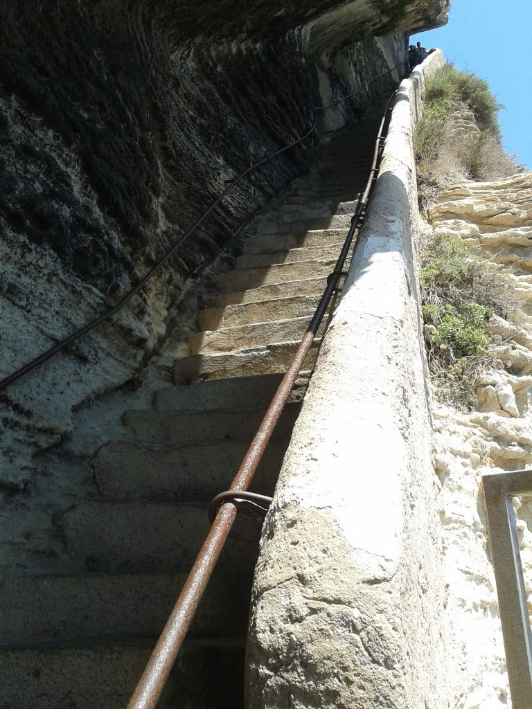Escalier Roi Aragon